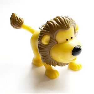 ❤️Vintage❤️ARBY'S Lion Toy Ornament